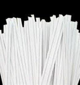 Staples Twist Ties (White)