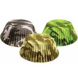 Fox Run Camouflage Baking Cup Set (75 ct)