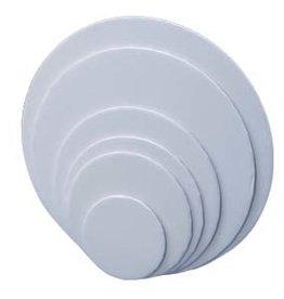 "Mid Continent Paper White Cake Drum 8"" Round"
