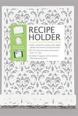 Brownlow Gifts White Metal Recipe Holder