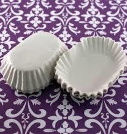 Auction White Oval Candy Cups