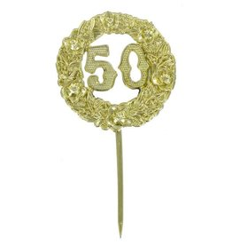 Parrish / Magic Line 50th Anniversary Cake Pick