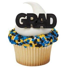 Decopac Bold Graduation Rings  12 ct