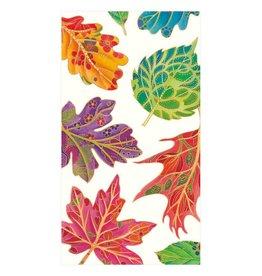Caspari Jeweled Autumn Ivory Guest Towel (15 ct)