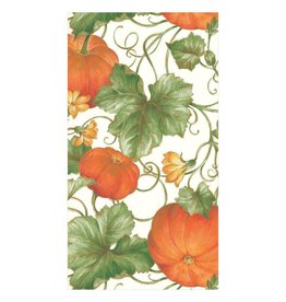 Caspari Pumpkins Ivory Guest Towels (15ct)
