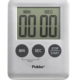 Harold Import Company Mini Digital Timer (Silver)