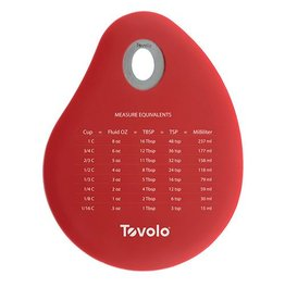 Tovolo Spatulart Conversion Bowl Scraper-White