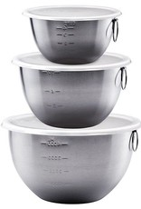 Tovolo Stainless Steel Mixing Bowls (Set of 3)