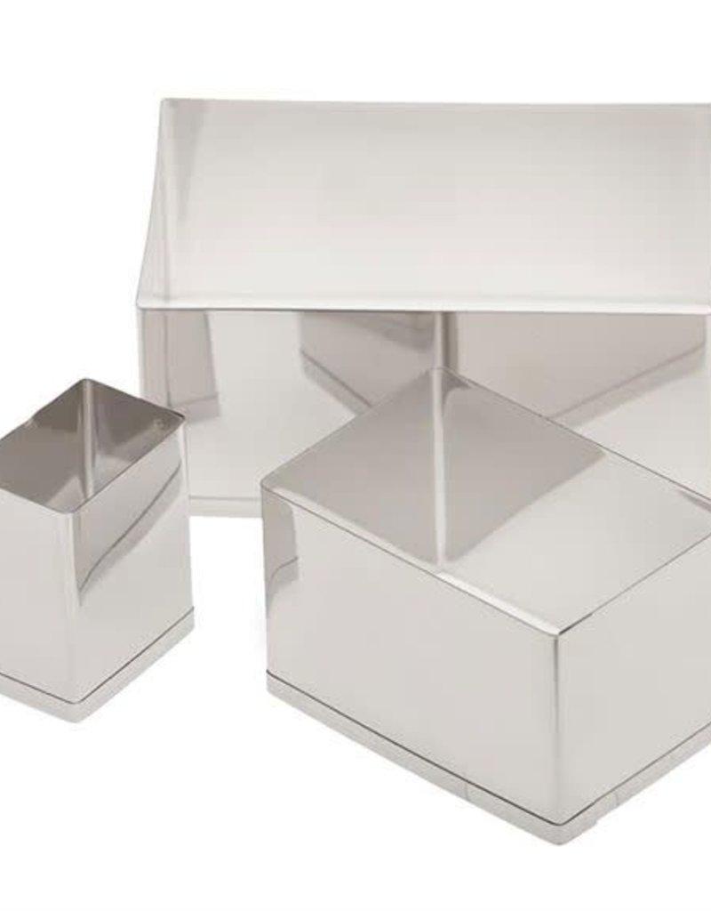 Ateco Rectangle Cutter Set - 3 pc