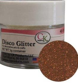 DISCO GLITTER - BURNT ORANGE