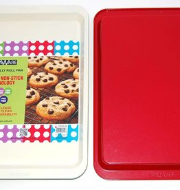 Casa Ware Cookie/Jelly Roll Pan 9x12.5 (Red)