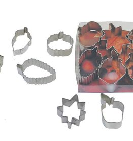 R and M Miniature Autumn Cookie Cutter Set