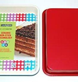 Casa Ware Cake Pan 9x13 (Red)