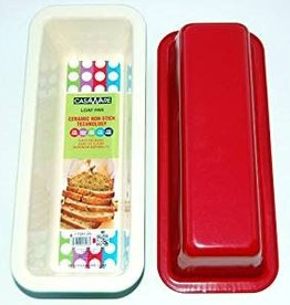 Casa Ware Loaf Pan 12x5x3 (Red)