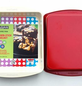 "Casa Ware Square Pan 9"" (Red)"
