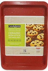Casa Ware Cookie/Jelly Roll Pan 10x14 (Red Granite)