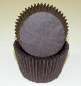Viking Brown Jumbo Baking Cups (40-50ct)