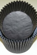 Viking Black Jumbo Baking Cups (40-50 ct)