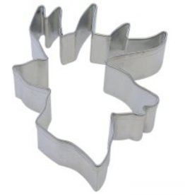 R and M Deer Head Cookie Cutter 4""