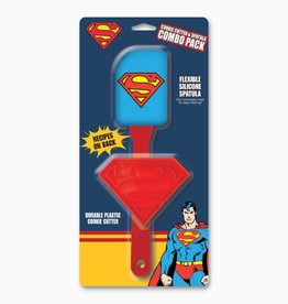 ICUP DC Comics Superman Cookie Cutter & Spatula Combo