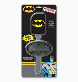 ICUP DC Comics Batman Cookie Cutter & Spatula Combo