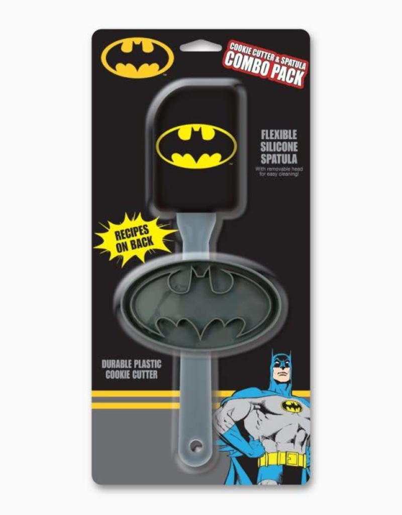 ICUP DC Comics Batman Cookie Cutter & Spatula Combo