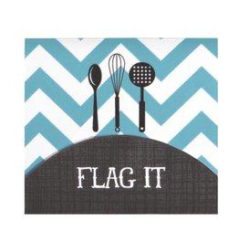 CR Gibson Cookbook Page Flag Set (Kitchen Gear)