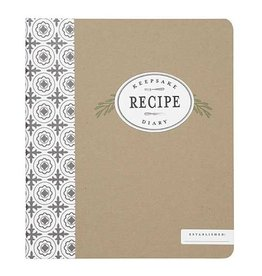CR Gibson Keepsake Recipe Diary (Farmhouse)