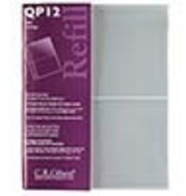 CR Gibson Qp12 Recipe Book Refill-Plasic Transparent Pocket Page Refill