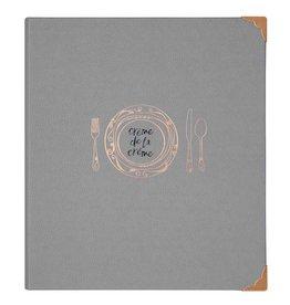 CR Gibson Pocket Page Recipe Book (Creme de la Creme)