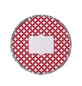 Simply Baked Foil Pans, Round (Scarlet Medallion) 6pk