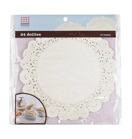 Bradshaw International Paper Doilies 24 ct 10 inch