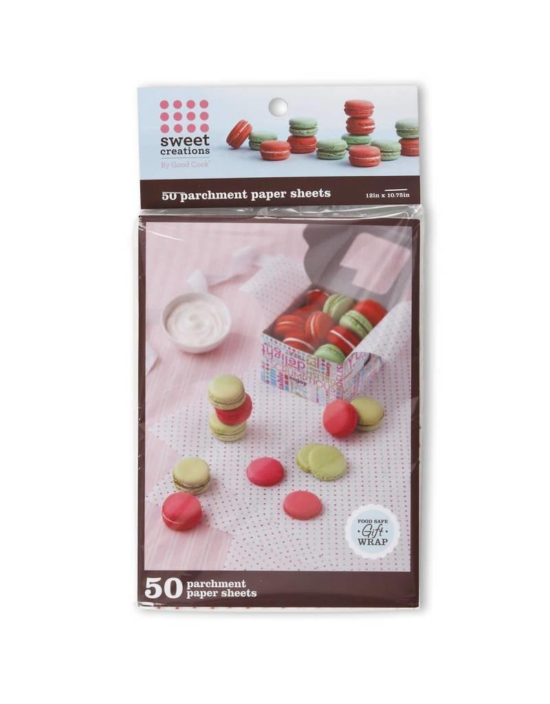 Sweet Creations Parchment Paper Sheets (Dots) 50pk