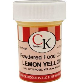Yellow (Lemon) Powder Food Coloring (9 Grams)