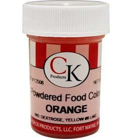 Orange Powder Food Coloring (9 Grams)