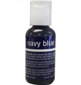 Navy Blue Chefmaster Liqua-gel 3/4 oz.