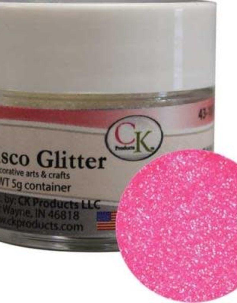 DISCO GLITTER - HOT PINK