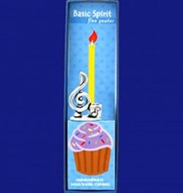 Basic Spirit Birthday Candle Holder (Treble Clef)
