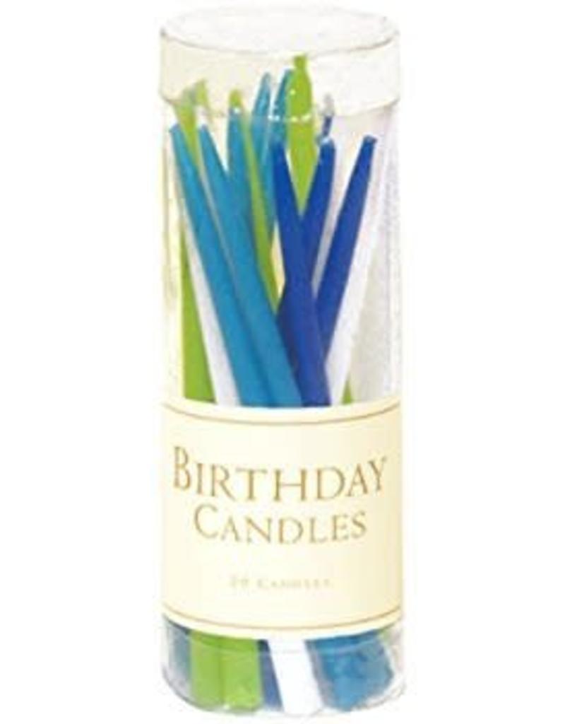 Caspari Birthday Candles (Ocean)