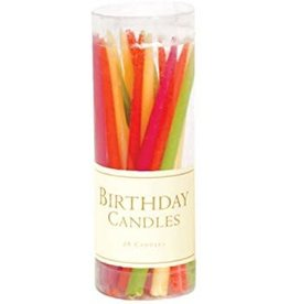 Caspari Birthday Candles (Tutti Frutti)