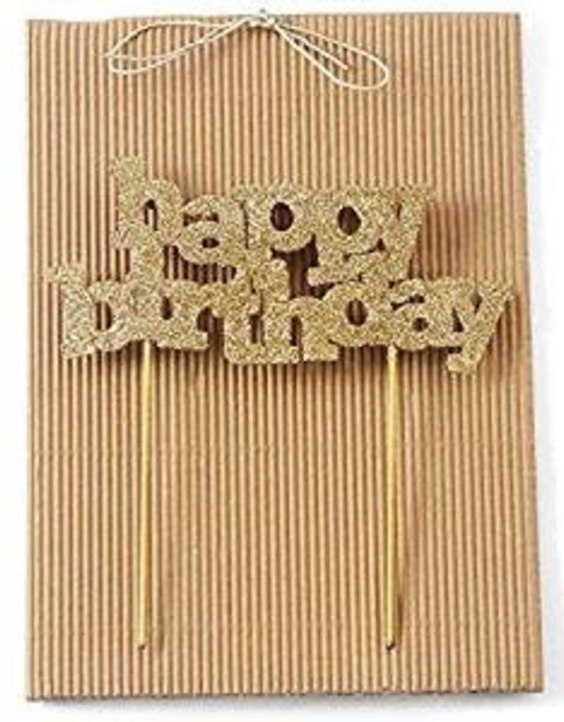 HAPPY BDAY CANDLE HOLDER