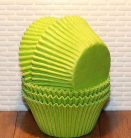 Viking Lime Green Jumbo Baking Cups (40-50ct)