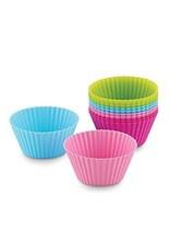 Fox Run Silicone Baking Cups (Neon)
