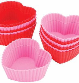 Wilton Heart Silicone Baking Cups