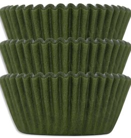 Viking Olive Green Baking Cups (30-40ct)