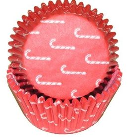 11 Candy Cane Baking Cups