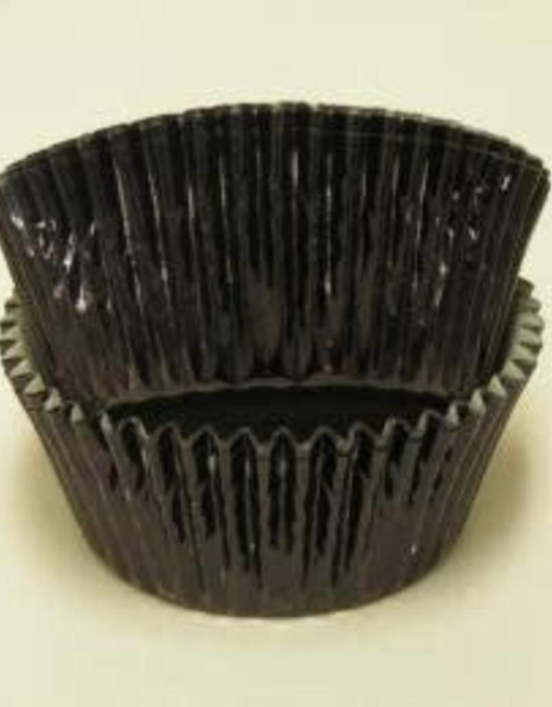 CK Black Foil Baking Cups (approx 30ct) MAX TEMP 325F