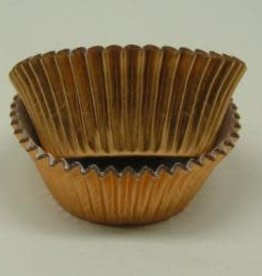 CK Gold Foil Baking Cups (approx. 30ct) MAX TEMP 325F