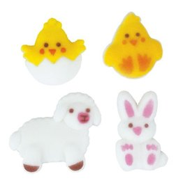 Easter Buddies Assortment Sugar Dec Ons