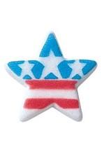 Patriotic Star Sugar Dec Ons
